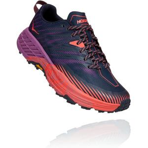 Hoka One One Speedgoat 4 Schuhe Damen outer space/hot coral outer space/hot coral