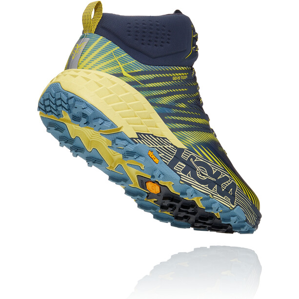 Hoka One One Speedgoat 2 GTX Mid Shoes Men, ombre blue/blue sheen