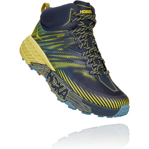 Hoka One One Speedgoat 2 GTX Mid Shoes Men, ombre blue/blue sheen ombre blue/blue sheen