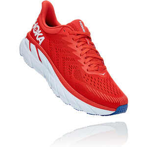 Hoka One One Clifton 7 Joggesko Herre rød rød
