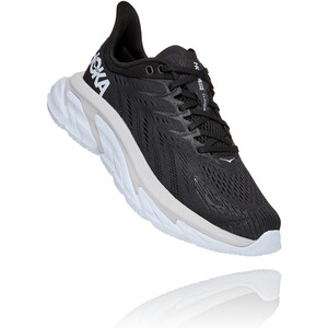 Hoka One One Clifton Edge Laufschuhe Damen black/white black/white