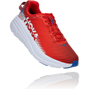 Hoka One One Rincon 2 Chaussures de trail Homme, rouge/blanc rouge/blanc