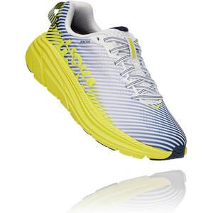 Hoka One One Rincon 2 Chaussures de trail Femme, blanc/jaune blanc/jaune