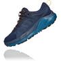 Hoka One One Kaha GTX Low Shoes Women, bleu