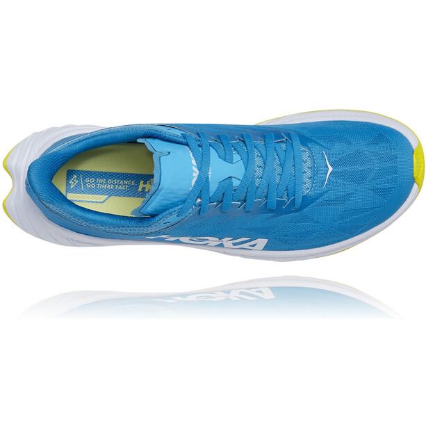 Hoka One One Carbon X 2 Schuhe Herren diva blue/citrus