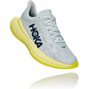 Hoka One One Carbon X 2 Schuhe Damen türkis/gelb türkis/gelb