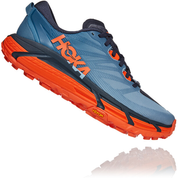 Hoka One One Mafate Speed 3 Shoes Men, provincial blue/carrot