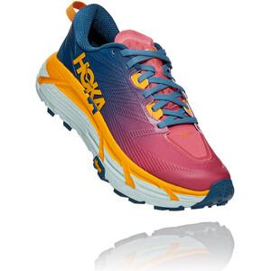 Hoka One One Mafate Speed 3 Schuhe Damen moroccan blue/saffron moroccan blue/saffron