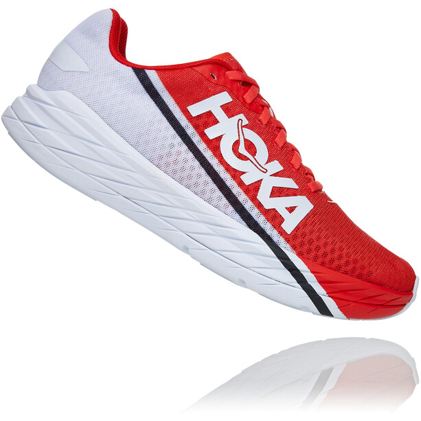 Hoka One One Rocket X Schuhe fiesta/black