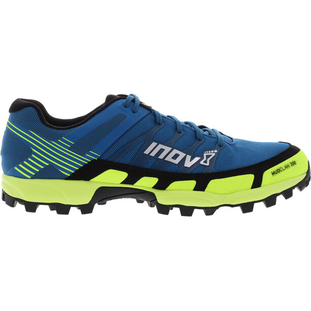 inov-8 Mudclaw 300 Schuhe Damen blau/gelb