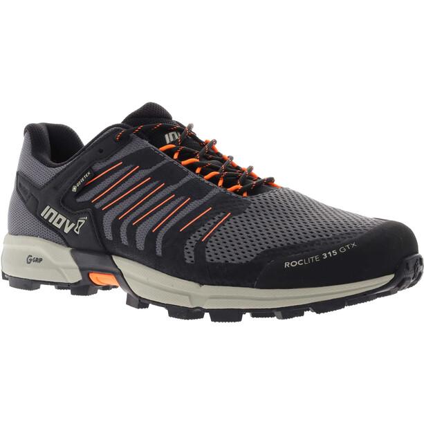 inov-8 Roclite G 315 GTX Chaussures Homme, gris/orange