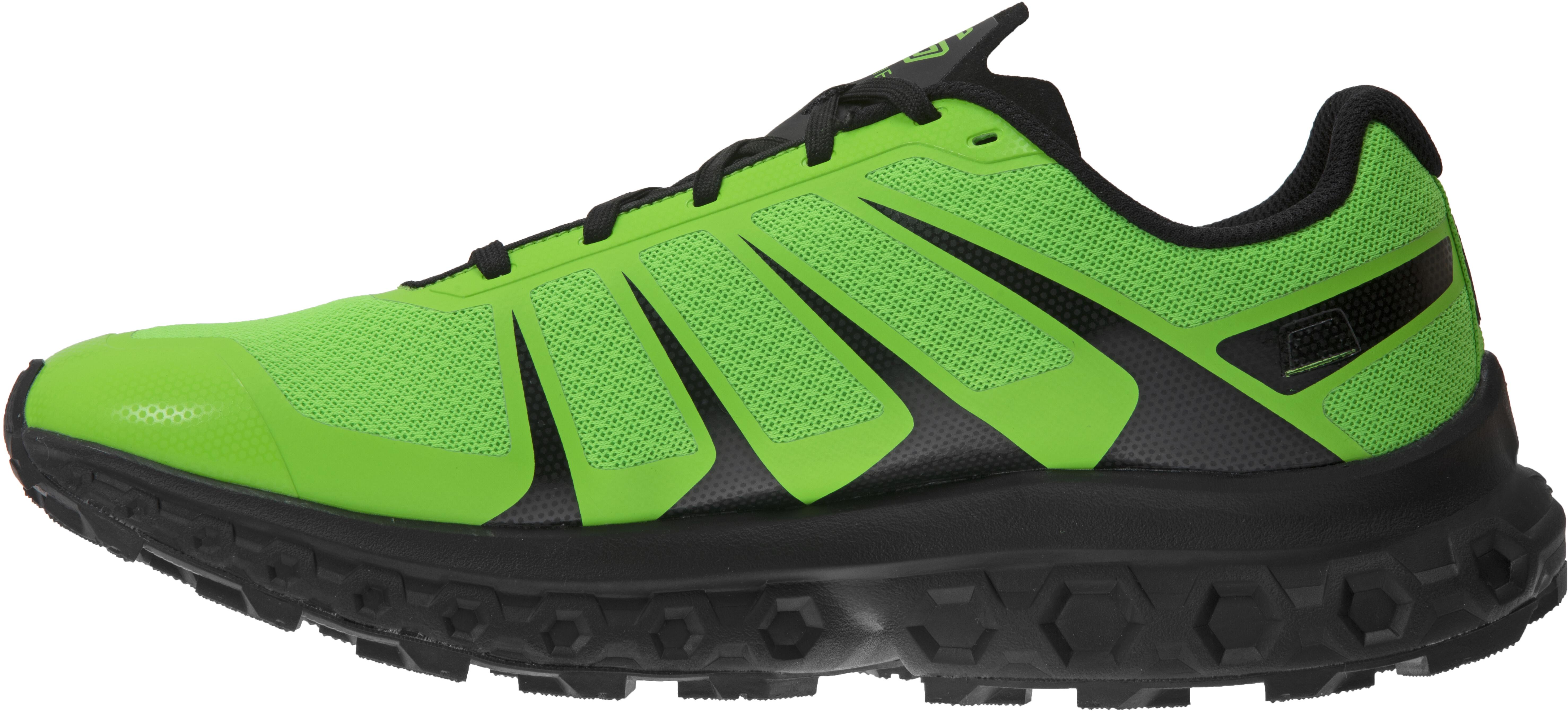 Green Inov8 TrailFly Ultra G 300 Max Mens Trail Running Shoes