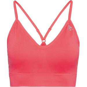 Odlo Padded Seamless Soft 2.0 Sports Bra Women, rose rose