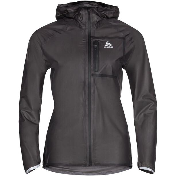 Odlo Zeroweight Dual Dry Water Proof Jacke Damen black