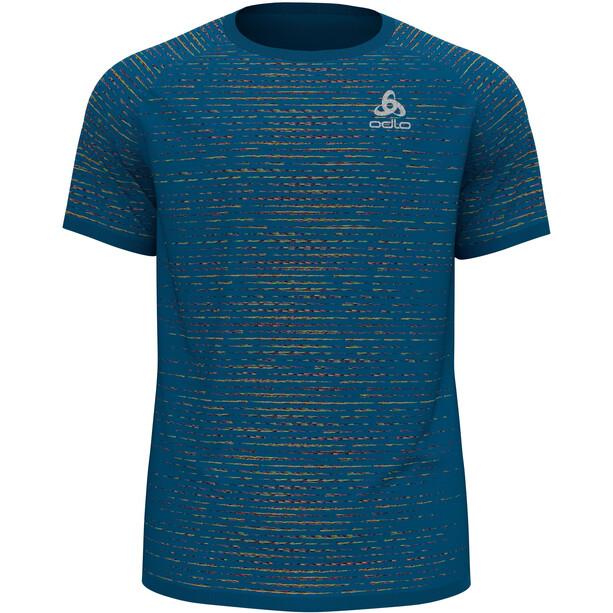 Odlo Blackcomb Ceramicool T-Shirt S/S Crew Neck Men, bleu