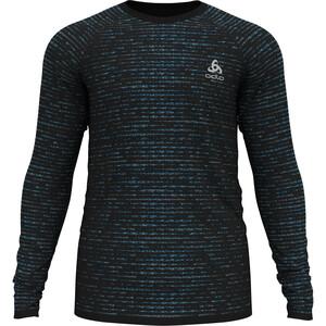 Odlo Blackcomb Ceramicool T-Shirt Langarm Rundhals Herren schwarz schwarz