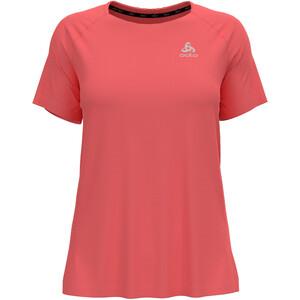 Odlo Essential T-Shirt Kurzarm Rundhals Damen rot rot