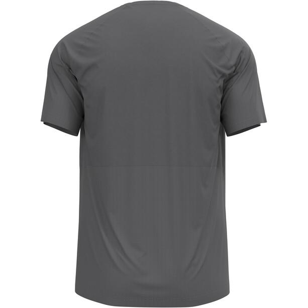 Odlo Essential Chill-Tec T-Shirt Kurzarm Rundhals Herren grau