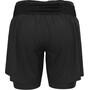 """Odlo Axalp Trail 6"""" 2-in-1 Shorts Damen black"""