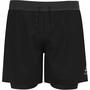 "Odlo Axalp Trail 6"" 2-in-1 Shorts Herren black"