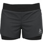 "Odlo Zeroweight 3"" 2-in-1 Shorts Damen black"