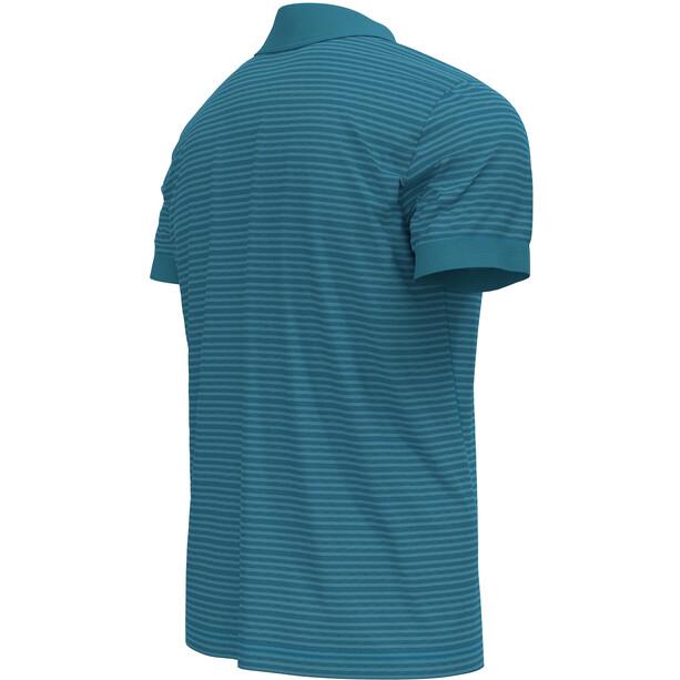 Odlo Nikko Dry Poloshirt Kurzarm Herren mykonos blue/horizon blue