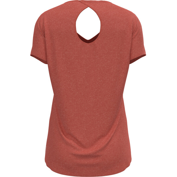 Odlo Halden Linencool T-Shirt Kurzarm Rundhals Damen burnt sienna melange