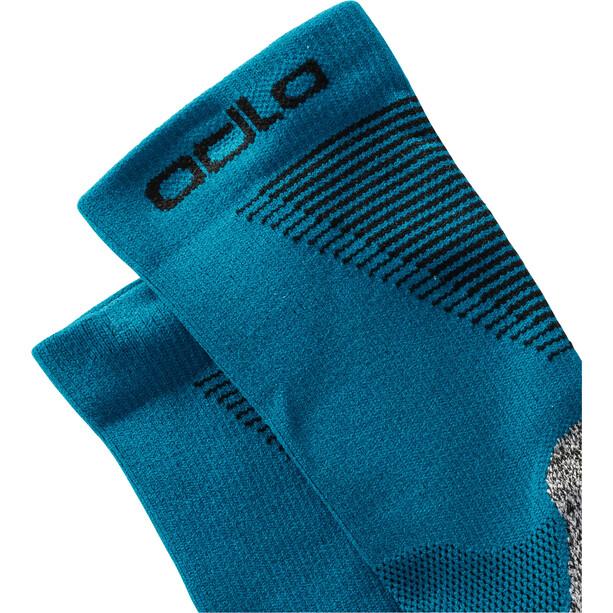 Odlo Ceramicool Run Socks Micro Crew blå