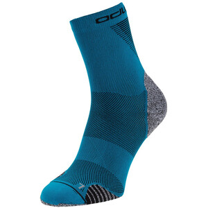 Odlo Ceramicool Run Micro Crew-strumpor blå blå