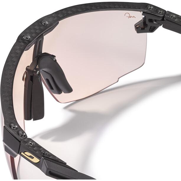 Julbo Ultimate Carbon Reactiv Performance 1-3 HC Sonnenbrille schwarz/blau