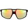 Julbo Rush Reactiv Performance 1-3 LAF Sunglasses, matt black/glossy black