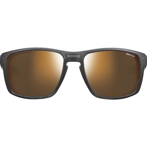 Julbo Shield M Reactiv High Mountain 2-4 Sunglasses, black/orange