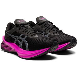 asics Novablast Schuhe Damen schwarz schwarz