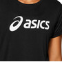 asics Silver Top Damen performance black / brilliant white