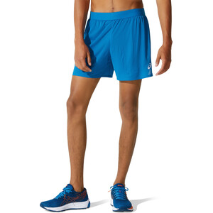 "asics Ventilate 2-N-1 5"" Shorts Herren reborn blue/french blue reborn blue/french blue"