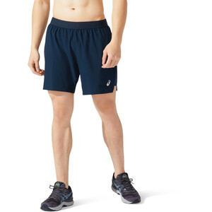 "asics Road 2-N-1 7"" Shorts Herren french blue/french blue french blue/french blue"