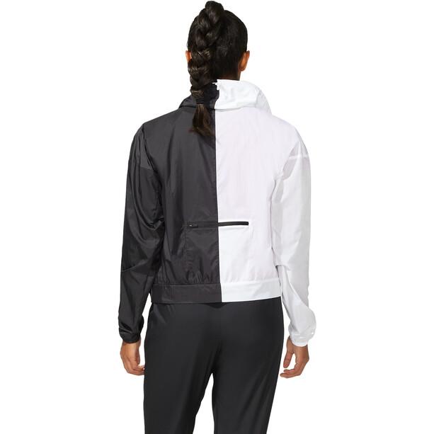 asics SMSB Run Jacke Damen performance black/brilliant white