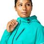 asics Fujitrail Jacket Women, baltic jewel