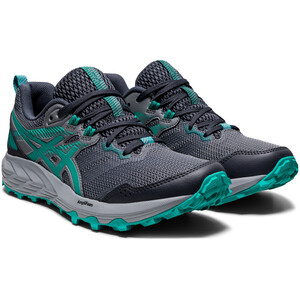 asics Gel-Sonoma 6 Shoes Women, gris/verde gris/verde