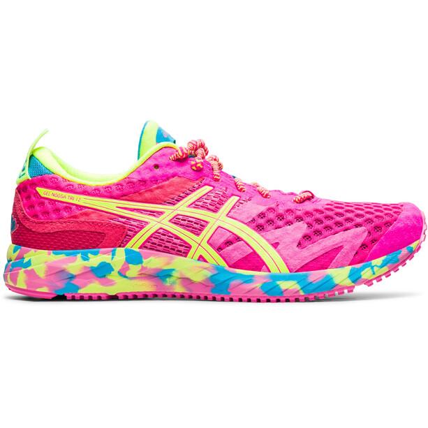 asics Gel-Noosa Tri 12 Shoes Women, vaaleanpunainen/keltainen