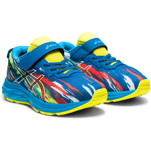 asics Pre Noosa Tri 13 PS Shoes Kids, bleu/jaune bleu/jaune