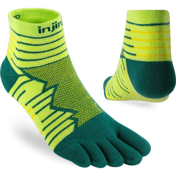 Injinji Run Technical Mini Crew Socks Men, deco