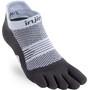 Injinji Run Lightweight No Show Socks Women grå/vit