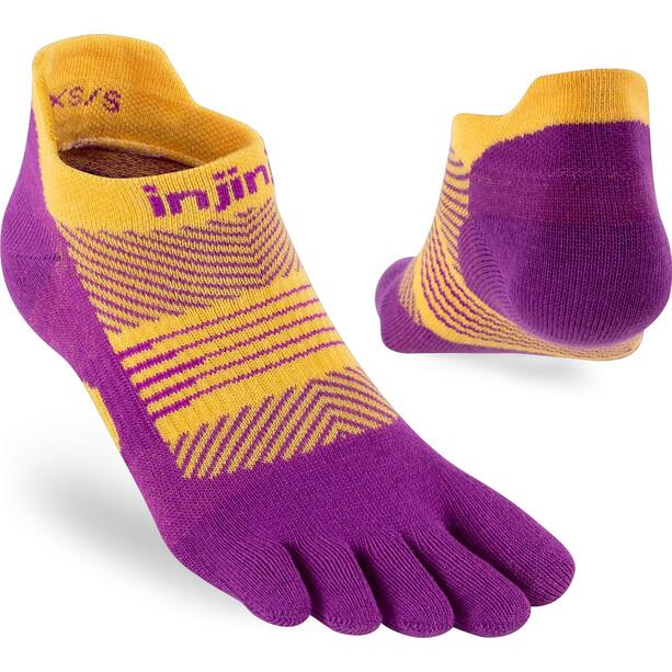Injinji Run Lightweight No Show Socks Women pink/gul