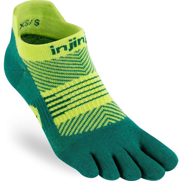 Injinji Run Lightweight No Show Socks Women grön