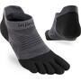 Injinji Run Lightweight No Show Socks Men svart/grå