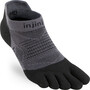 Injinji Run Lightweight No Show Socken Herren black