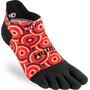 Injinji Spectrum Run Lightweight No Show Socks Men, coil