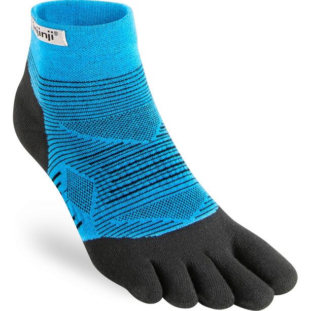 Injinji Run Lightweight Mini Crew Socks Men blå/grå