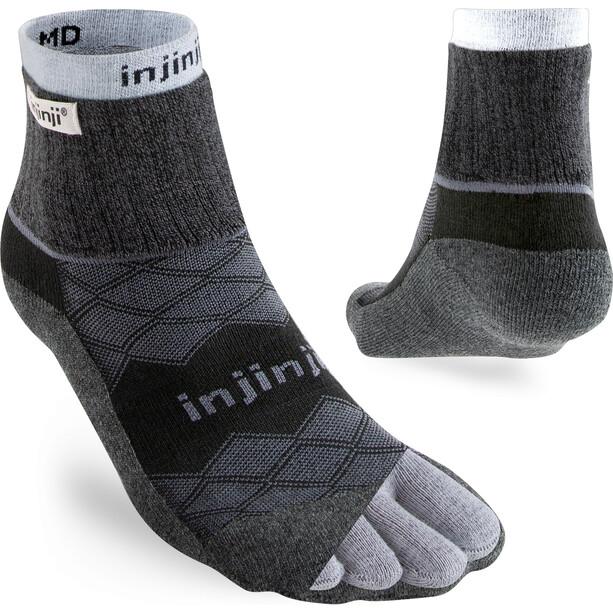 Injinji Liner + Runner Mini-Crew Chaussettes Homme, black